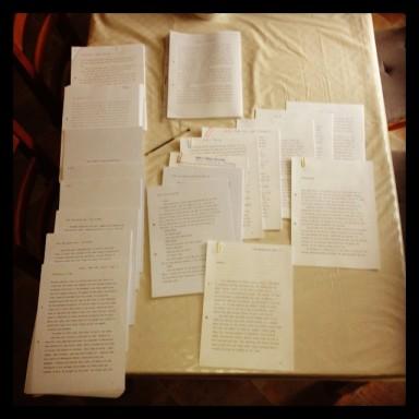 1st Novel draft