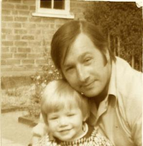 Being Dad Me & Dad sepia