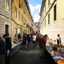 Book market in Baixa-Chado